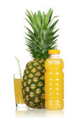 Pineapple juice — Stockfoto