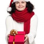 Christmas girl — Stock Photo #12913395