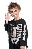 Child in halloween costume — Stock Photo