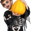 Child in halloween costume — Stock Photo #13156149
