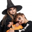 Child in halloween costume — Stock Photo #13156181