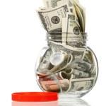 Money jar — Stock Photo #13156685