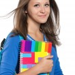 Teen girl - Stock Photo