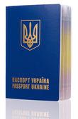 ウクライナのパスポート — ストック写真