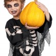 Child in halloween costume — Stock Photo