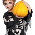 Child in halloween costume — Stock Photo #13273052