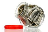 Money jar — Stock Photo