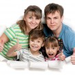 Happy family — Stock Photo #13484422