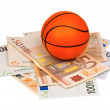 Euro and ball — Stock Photo #13512814