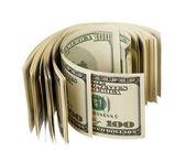 Heap of dollars — Stock Photo