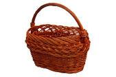 Wicker basket — Stock Photo