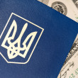 Passport Ukraine — Stock Photo