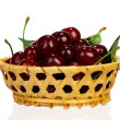 Sweet cherries — Stock Photo