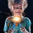 Crazy little electrician — Stock Photo #16891865