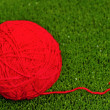 Red ball of yarn — Stock Photo #19664431