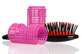 Hair rollers — Stock Photo