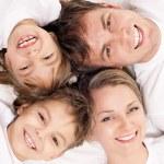 Fun family — Stock Photo