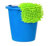 Modré kbelík — Stock fotografie