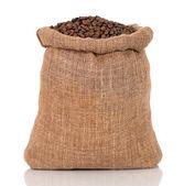 Kaffe i väska — Stockfoto