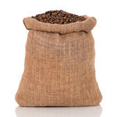Coffee in bag — Stock Photo