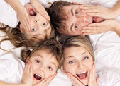 Fun family — Stockfoto