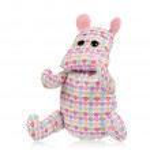Toy hippopotamus — Stock Photo