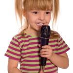Singing child — Stock Photo #2529669