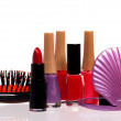 Stock Photo: Set cosmetics