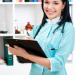 Medical doctor woman — Foto Stock