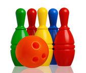 Leksak bowling — Stockfoto