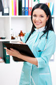 Medical doctor woman — Stock Photo