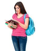Jeune fille étudiante — Photo