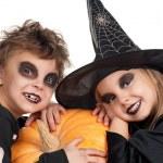 Child in halloween costume — Stock Photo #33904773