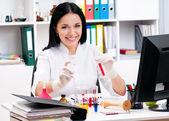 ženský lékař — Stock fotografie
