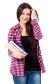 Student girl — Stock Photo