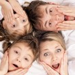 Stock Photo: Fun family
