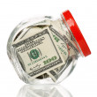 Money jar — Stock Photo #39132983