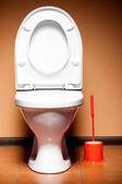 Ceramic toilet — Stock Photo
