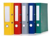 Colorful folders — Stock Photo