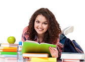 Student girl — Stock Photo