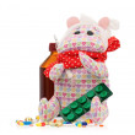 Toy hippopotamus — Stock Photo #45786381
