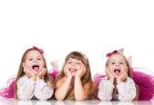 Küçük kızlar — Stok fotoğraf