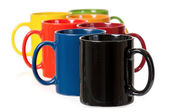Colorful cups — Stock Photo