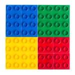 Plastic building blocks — Stock Photo #10430353
