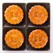 Chinese Mooncake - Stock Photo