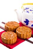 Chinese Mooncake — Stock Photo