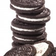 Stock Photo: Chocolate cookies