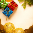 Christmas background — Stock Photo #16847775