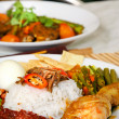 Malaysian food — Stock Photo