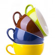 Colorful ceramic cup — Stock Photo